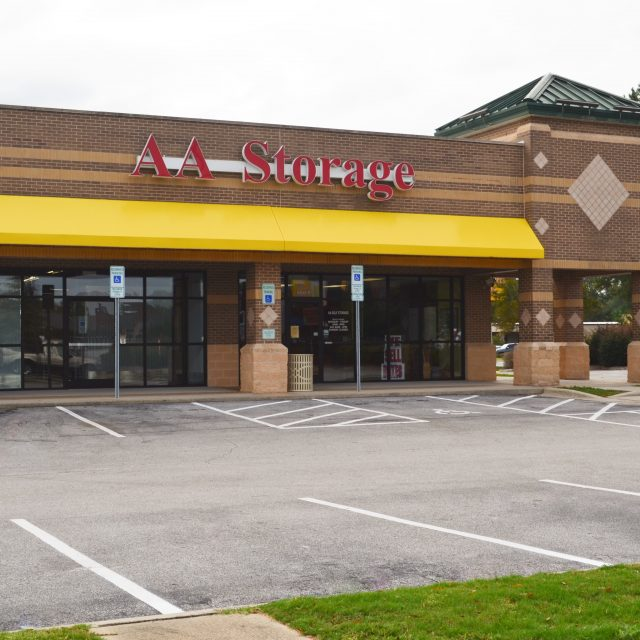 Greenville NC Storage Unit Rentals   AA Self Storage
